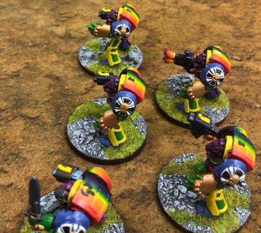 Rainbow Warrior Terminators